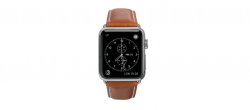 Copenhagen - Watch Strap 38 & 40mm- Tan/Silver