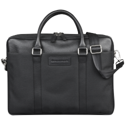 "Ginza - 16"" Duo Pocket Laptop Bag PRO - Black"